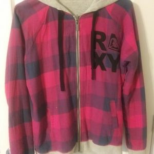 NWT Roxy jacket/hoodie reversible